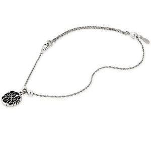 Alex and Ani Silver Path of Life Anklet